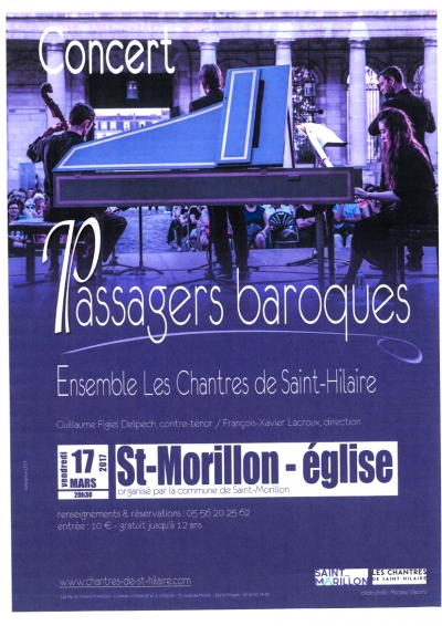 Concert Passagers Baroques